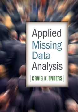 """""""Walking readers step by step through complex concepts, this book translates missing data techniques into something that applied researchers and graduate students can understand and utilize in their own research."""" Enders, CK. 2010.  Applied Missing Data Analysis. New York: The Guilford Press."""