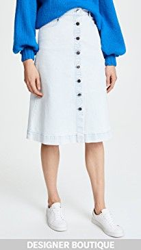 New Stella McCartney Sylvia Denim Skirt online. Find the perfect Elizabeth and James Clothing from top store. Sku qhws10802oqxc70481
