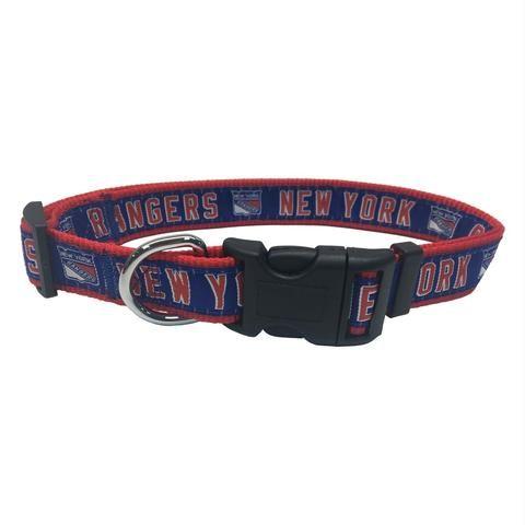 2a5c9081972 New York Rangers Pet Collar by Pets First#petlover #dogaccessories #dogdiy