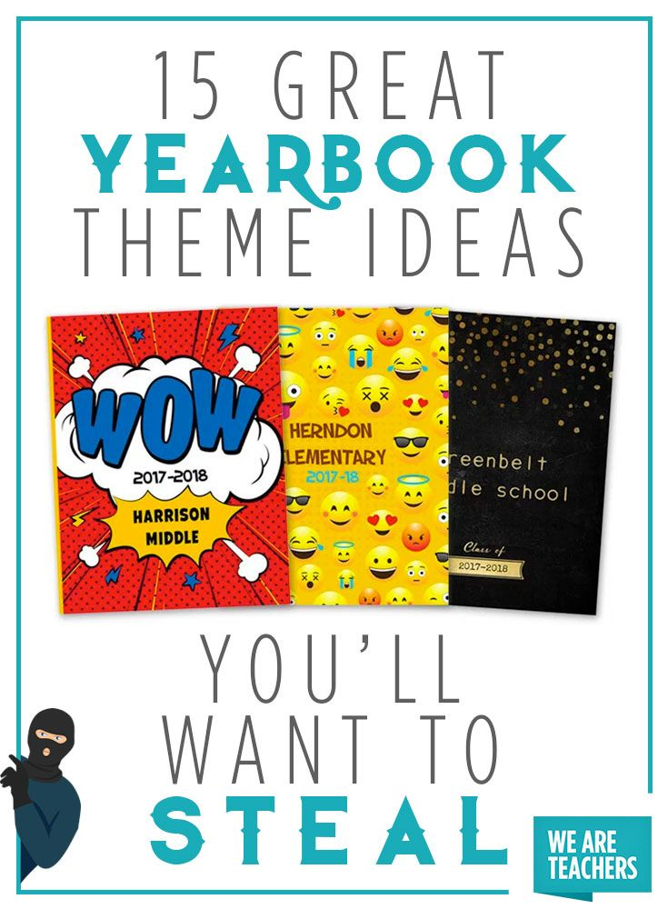 Yearbook Ideas 2020 For School 15 Great Yearbook Theme Ideas You'll Want to Steal | 2020 yearbook