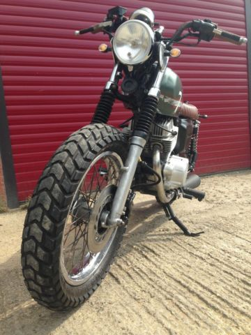 Honda CD250U custom street scrambler For Sale Milton Keynes, Buckinghamshire, United Kingdom | AutoMotoClassicSale.com