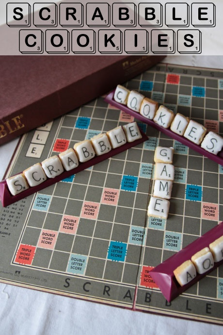 Scrabble Cookies Recipe