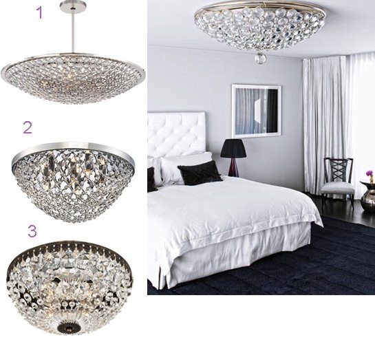 How to Make Your Bedroom Romantic with Crystal Chandeliers  sc 1 st  Pinterest & Best 25+ Low ceiling lighting ideas on Pinterest | Lighting for ... azcodes.com