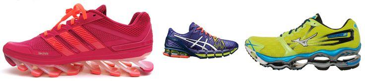 The heavier the running shoe, the more metabolically demanding running will be  http://runforefoot.com/thick-heeled-running-shoes-impair-running-form-causing-lower-leg-injury/