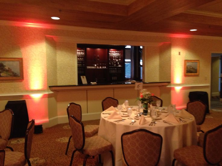 Uplighting At The Raleigh Country Club Interior Design JobsWedding