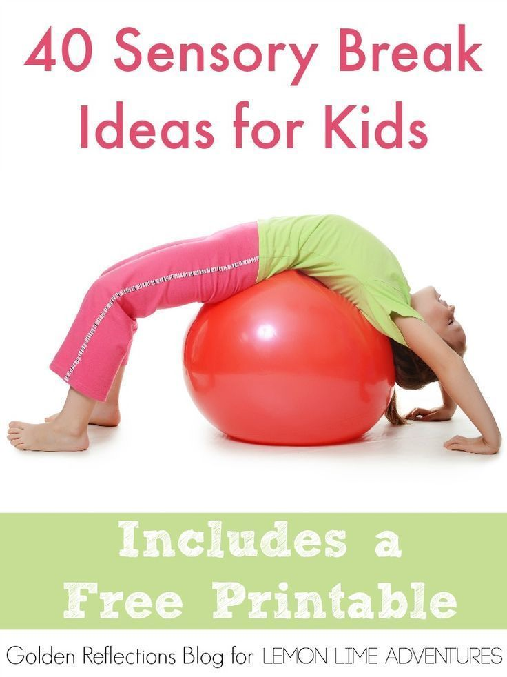 Classroom Break Ideas : Sensory break ideas for kids classroom kid and read more