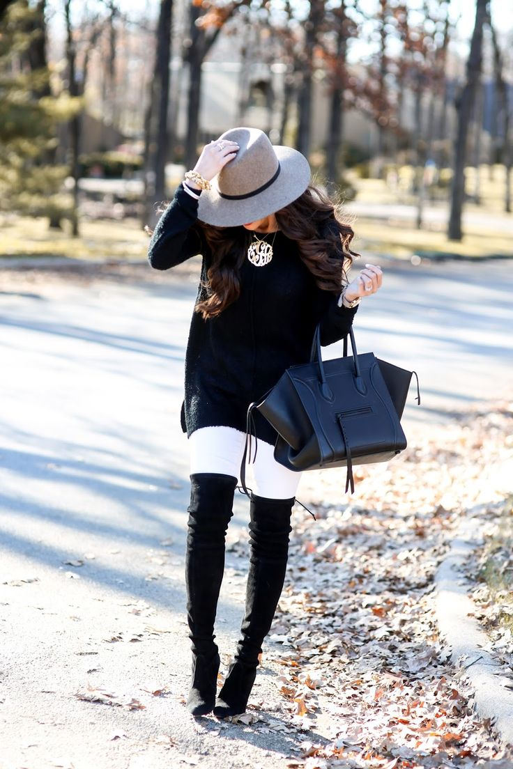 The Sweetest Thing: How To Wear White Denim in the Winter