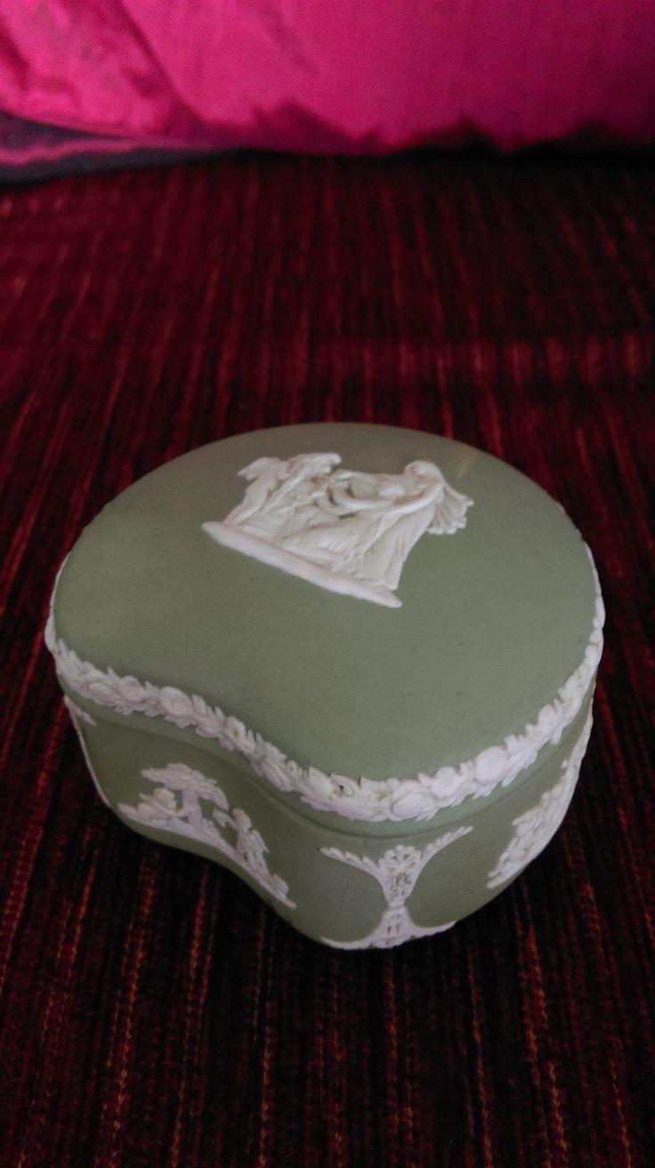 Wedgewood Jasperware Trinket Box