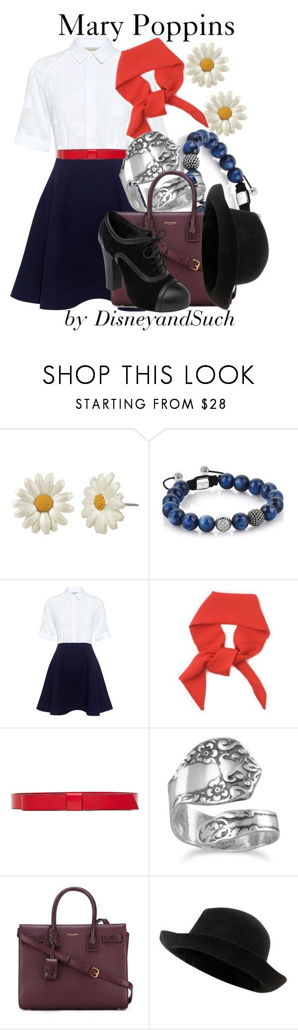 """""""Mary Poppins"""" by disneyandsuch ❤ liked on Polyvore featuring Paul & Joe Sister, Marni, BillyTheTree, Yves Saint Laurent, Chanel, disney, disneybound, marypoppins and WhereIsMySuperSuit"""