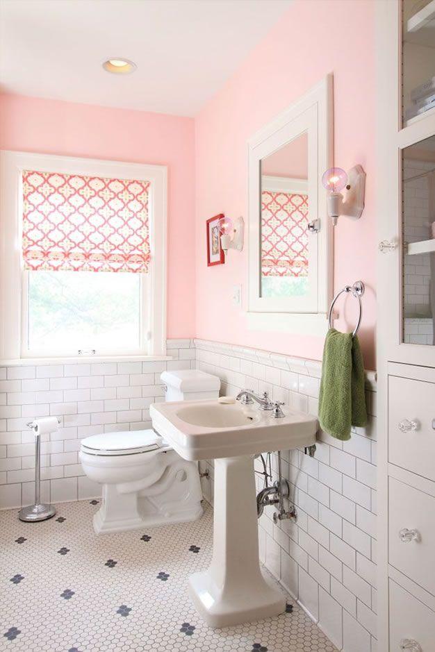 Ideas Para Tener Un Bano En Color Rosa Banos De Epoca Pintar