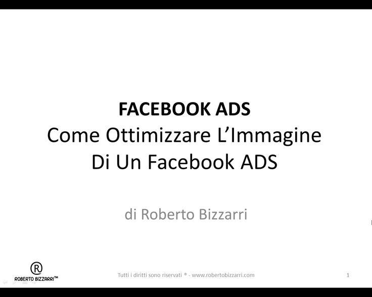 Come Ottimizzare L'Immagine Di Un Facebook ADS