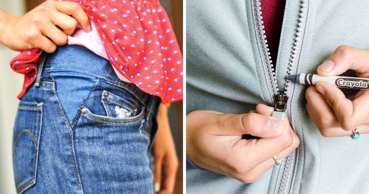 18ingenious tricks for your clothes that will save you aton ofmoney