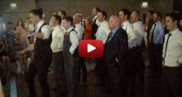 Самый лучший ирландский танец на свадьбе (Видео) |