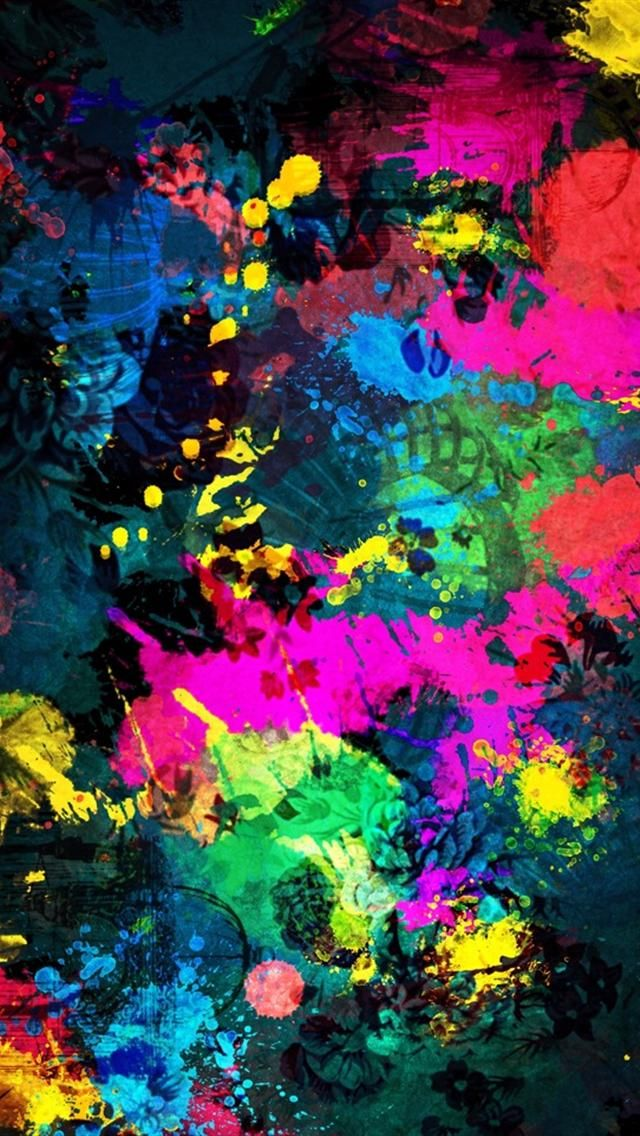 beautiful fantasy colorful art abctract iphone 5 hd