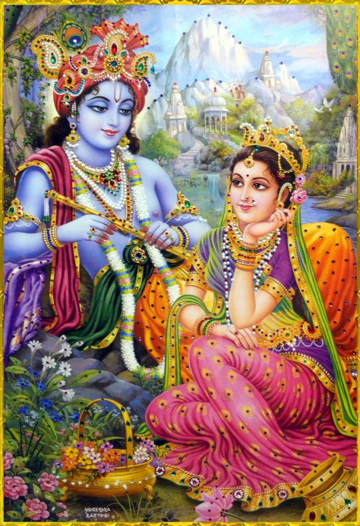 krishna+and+radha | RADHA KRISHNA by VISHNU108 on deviantART