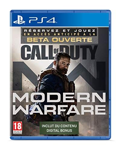 Call Of Duty Modern Warfare Edition Exclusive Amazon Ps4 Call Of Duty Guerre Moderne Guerre Contemporaine