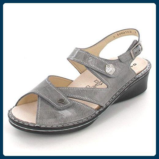 Finn Comfort Santorin Größe 37.5 grey - Sandalen für frauen (*Partner-Link)