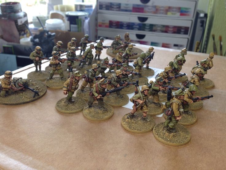 3 squads of Afrika Korps completed!