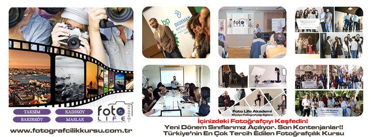 Foto Life Akademi fotoğrafçılık kursu temel ve meslekli atölyeler, ders programı, eğitmen kadrosu, gezi programı ve fiyatları için sitemizi ziyaret edebilirsiniz. http://www.fotografcilikkursu.com.tr/  #fotoğrafçılıkkursu #fotoğrafçılıkkursları  #fotoğrafçılıkdersi