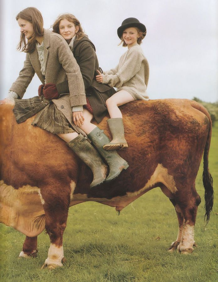 Wellies and tweeds... my kids, animals and the open countryside is my greatest joy in life! I never feel more at peace than when we are all together at Carteret Farm!