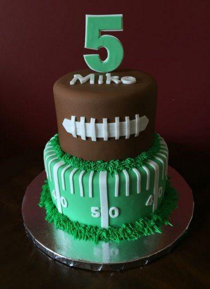 Birthday cake kids boys football 48+  ideas