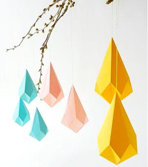 FLAVOURITES - Luxe kristallen van papier (zelf maken!)