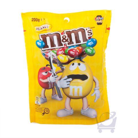 Peanut m&m's – Mars Chocolate Australia – 200g | Shop Australia