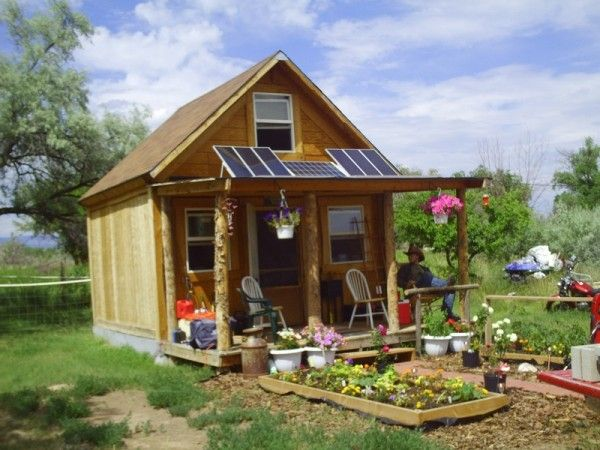 Solar Homesteading in a Tiny House