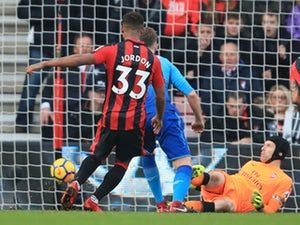 Result: Arsenal surrender lead to lose to Bournemouth for first time