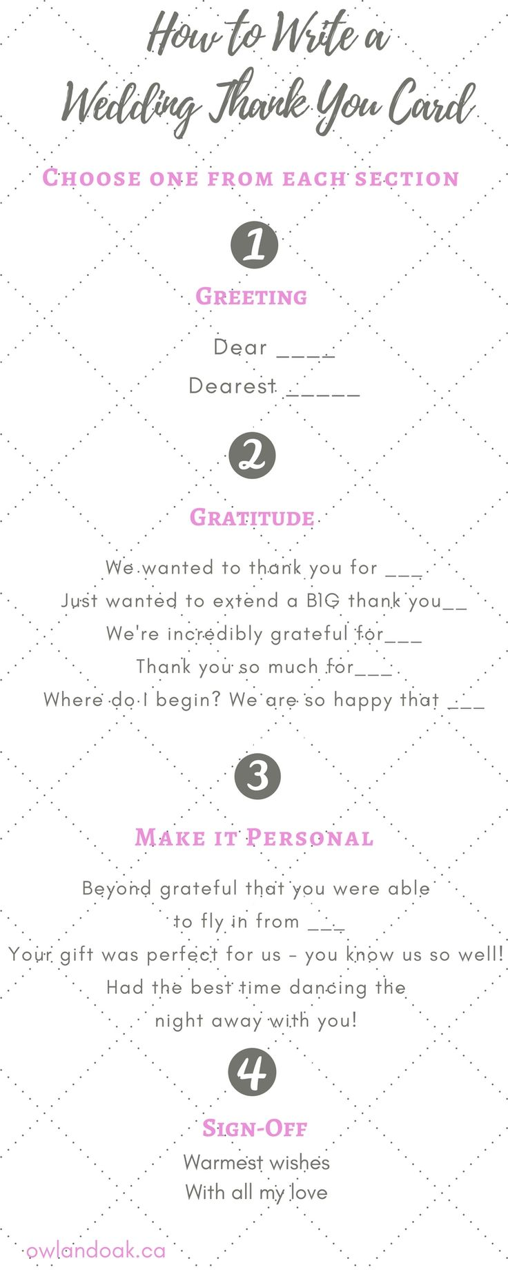 how to write a wedding thank you Writing your wedding thank you speech shouldn't be stressful here are some tips as well as a sample speech.