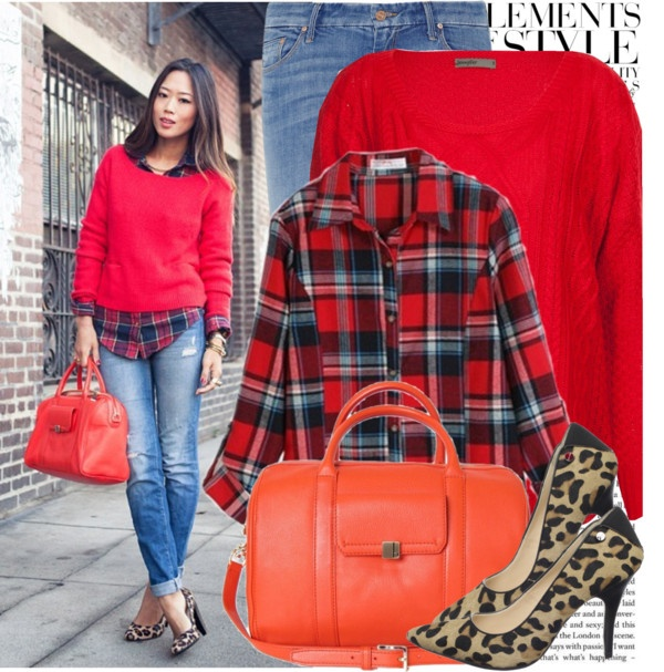 """Blogger Style: Song of Style"" by marina-castro ❤ liked on Polyvore"