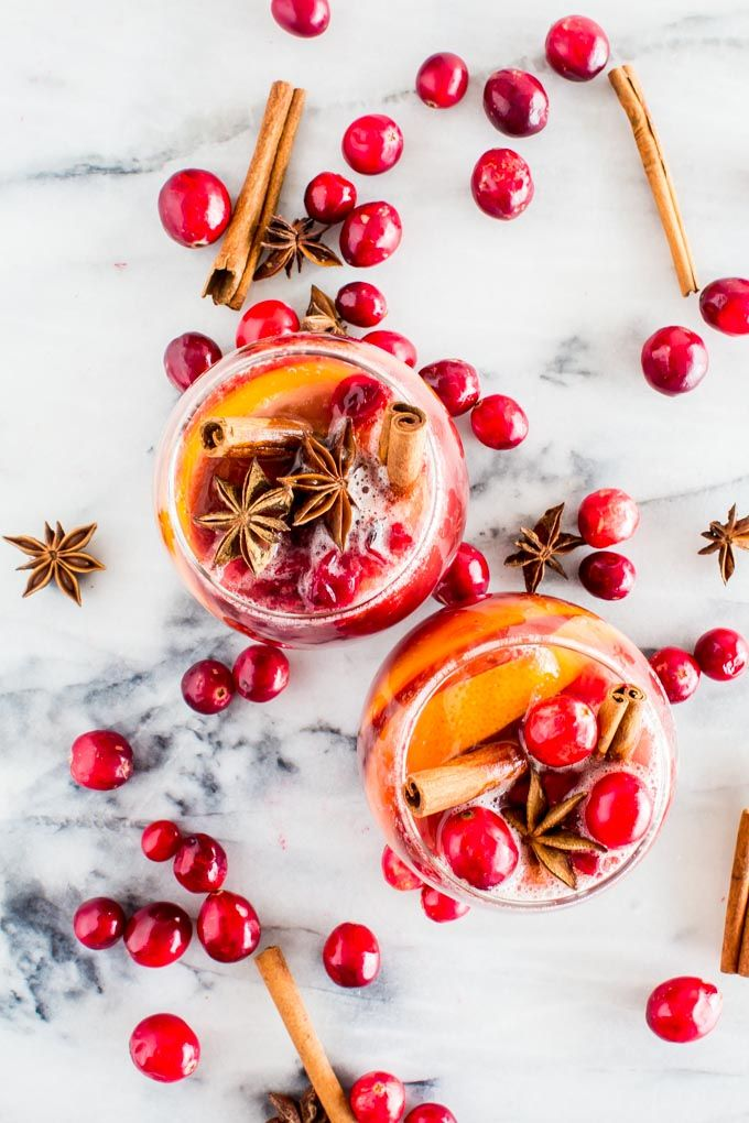 Winter Sangria (non-alcoholic!!) | Yeah...imma eat that. | Bloglovin'