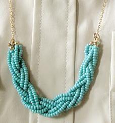 #DIY #PAP Maxi colar trançado de miçangas - Passo a passo - do blogue ArteBlog.Net