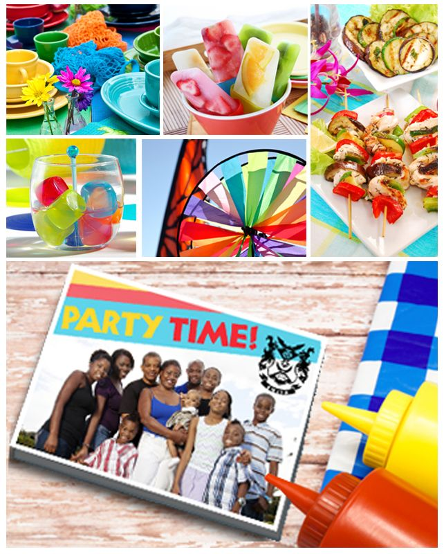 Turn a fun-filled photo from your family reunion into a memorable card that everyone will treasure!