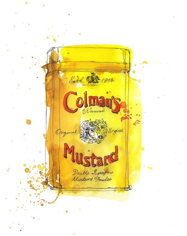 Coleman's English Mustard - my favourite accompaniment!
