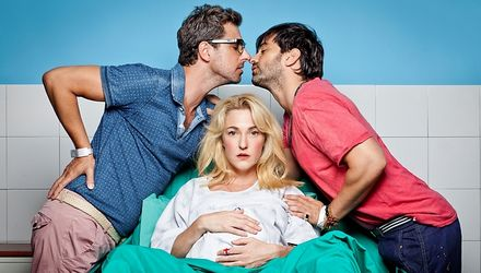 gay israel tv series | hot tv series ima ve abaz which tells story of two homosexual men who ...