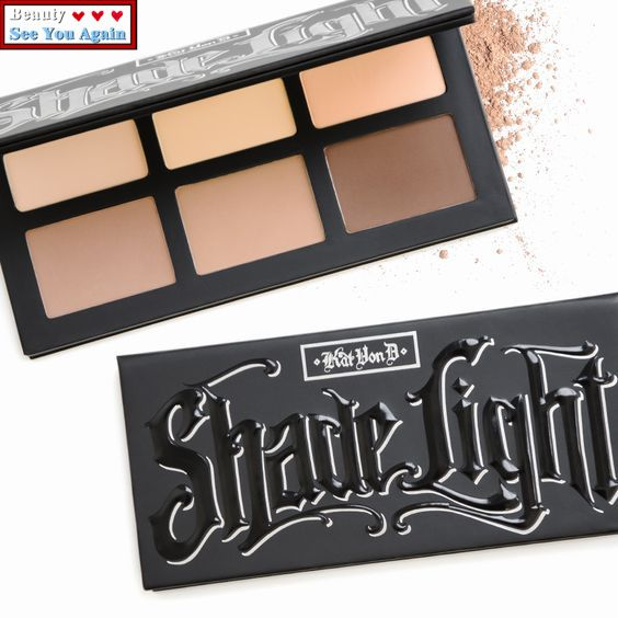 Kat Von D Shade + Light Face Contour Palette Bronzers and Highlighters Nake Contouring Makeup Matte Eyeshadow-in Bronzers & Highlighters from Health & Beauty on Aliexpress.com | Alibaba Group