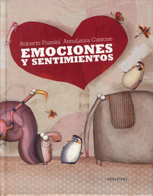 #Infantil / Diseño e Ilustración #MiniAlbumes. EMOCIONES Y SENTIMIENTOS - Roberto Piumini, AnnaLaura Cantone #Edelvives