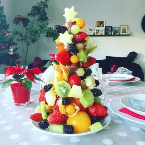1000 ideas about weihnachtsbaum aus obst auf pinterest - Obst und gemuseplatte fur kindergarten ...