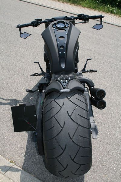 No-Limit-Custom Pirate V-Rod. may the only water cooled bike....but needs to sound like a hd.....nice tire...