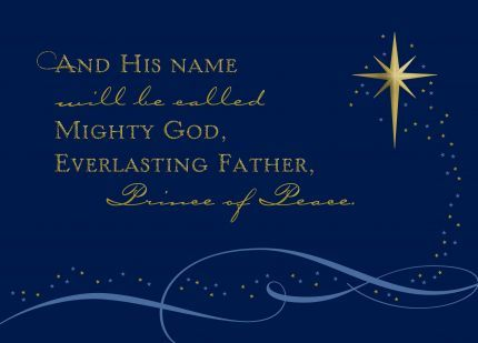 Use this scripture quote for winter party printables inspiration?