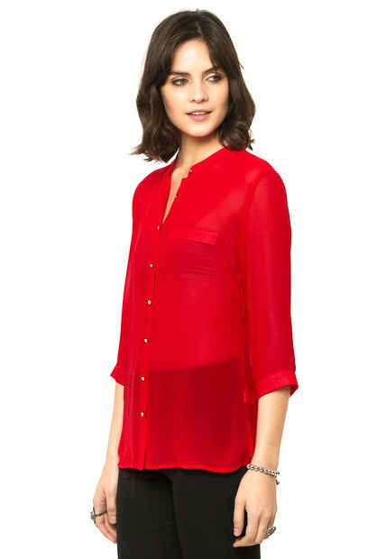 Me encanta! Miralo! Camisa Roja Ted Bodin  de Ted Bodin en Dafiti