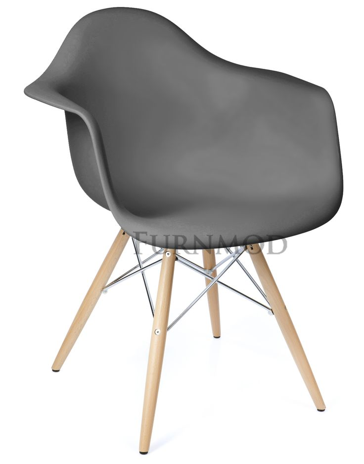 Eames DAW Style Chair - Chrome Edition | FURNMOD | Designer Furniture