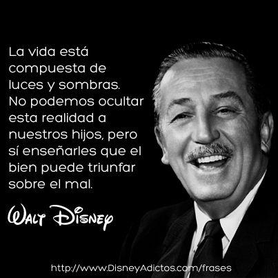 En http://www.disneyadictos.com/frases encontrarás las mejores frases de Walt Disney.
