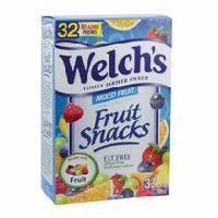 Welch's Gluten Free Mixed Fruit Snacks  #WelchsFruitSnacksCAN