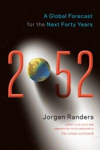 Description:  In the book 2052, Jorgen Randers, one of the coauthors of Limits to Growth, issues a progress report and makes a forecast for the next forty years. To do this, he asked dozens of experts to weigh in with their best predictions on how our economies, energy supplies, natural resources, climate, food, fisheries, militaries, political divisions, cities, psyches, and more will take shape in the coming decades