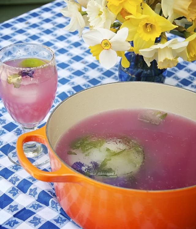 Make delicious cocktails, mocktails and simple syrups from your gardens.