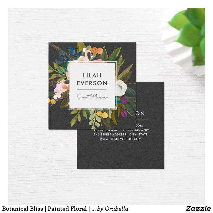 277 best Chic Business Cards for Networking images on Pinterest ...