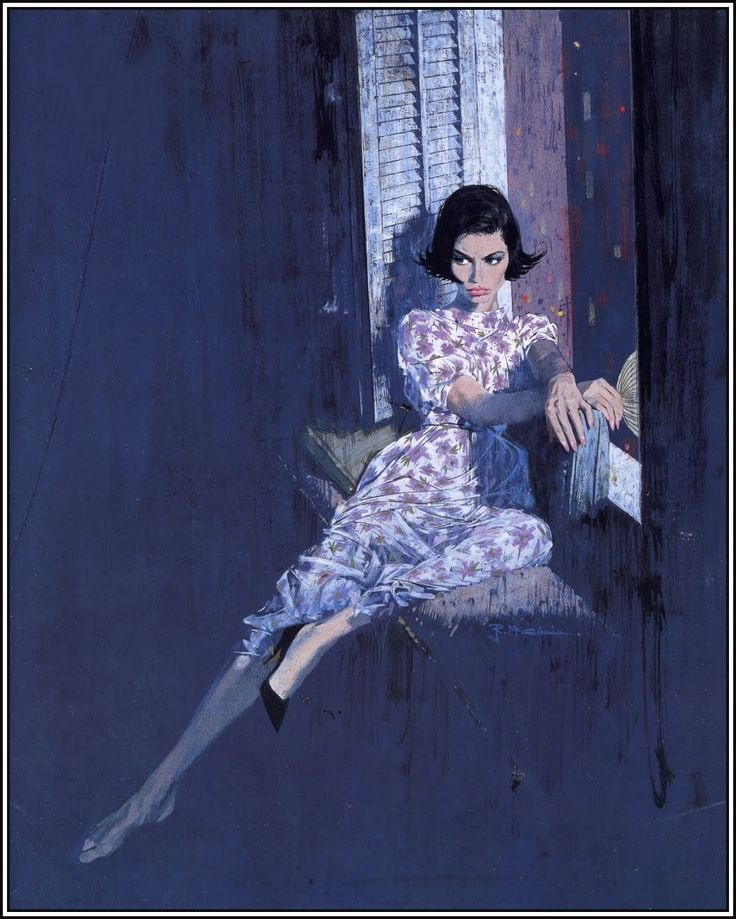 Robert McGinnis, American artist and illustrator