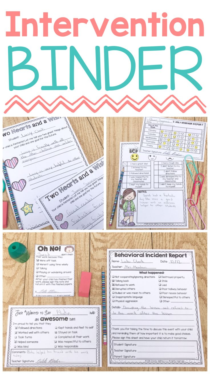 Behavior Contracts and Behavior Intervention Forms EDITABLE - Use this 600+ page resource with your Kindergarten, 1st, 2nd, 3rd, 4th, 5th, or 6th grade classroom or home school students. You get behavior contracts, intervention forms, calendars, parent communication forms, positive notes home, and more! Plus editable forms for both English and Spanish. Click to see the contract, spine labels, contracts, think time sheets, self-assessments, positive classroom culture, and much more!